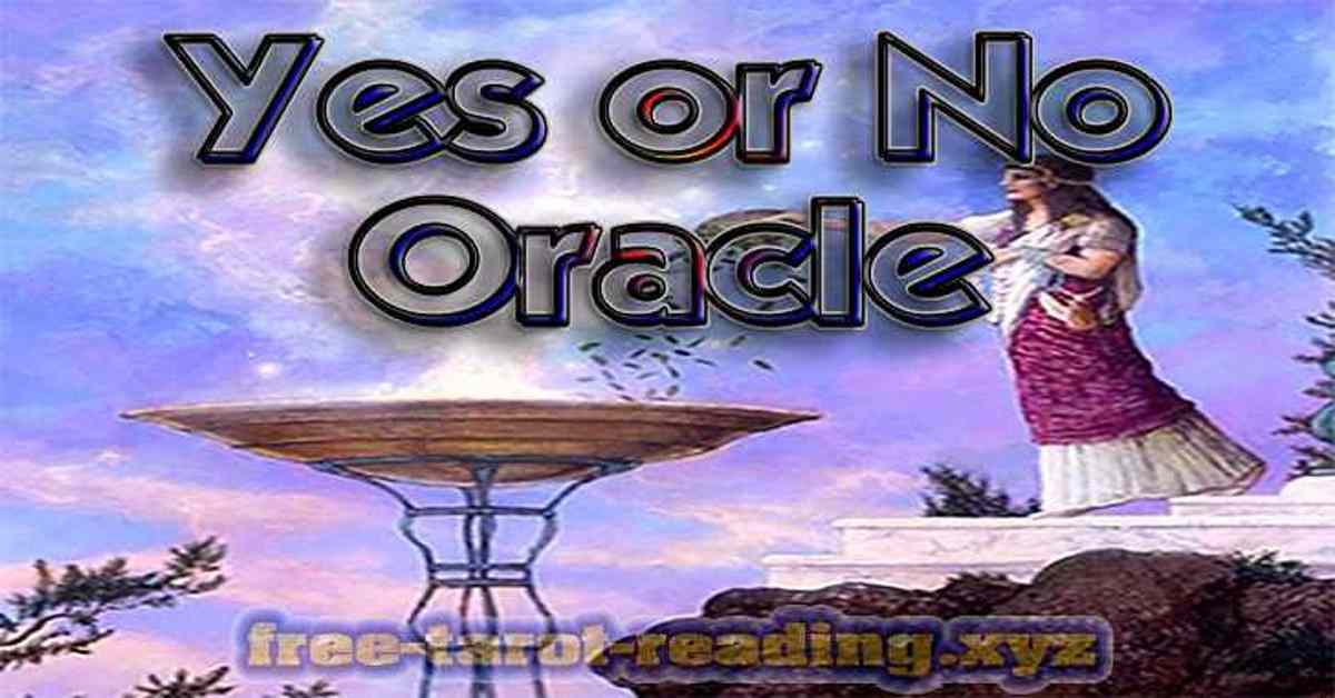Yes or No Oracle free online