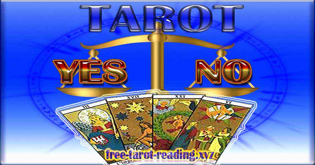 Yes or No Tarot Free with three cards
